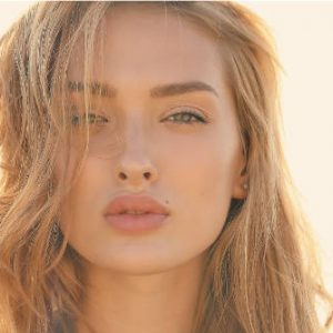 Women with fresh glowing face